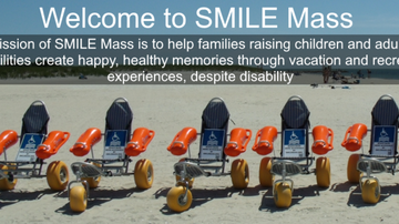 Tell Me Something Good - NON-PROFIT GROUP DONATES BEACH WHEELCHAIRS