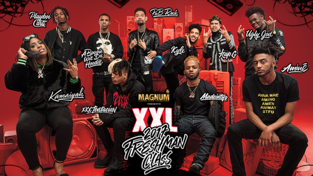 The  Xxl Freshman Class Cover Was Followed By Freestyles And Interviews By All  Freshmen And Performances By A Boogie Wit Da Hoodie Pnb Rock Kyle