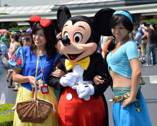JAPAN-ENTERTAINMENT-DISNEY-HALLOWEEN