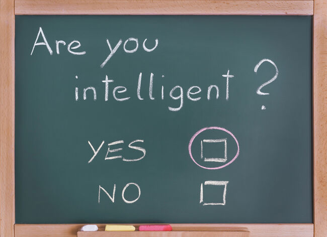 are you intelligent