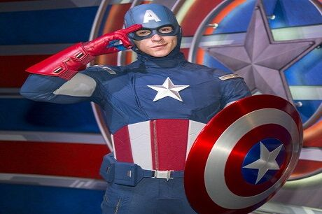 Captin America: The Living Legend And Symbol Of Courage