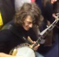 Alex - Dueling Banjos on a Train