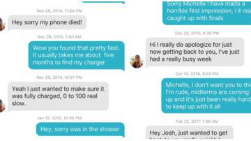 Courtney - Tinder Takes Over After Couple Jokingly Avoids Each Other For Years