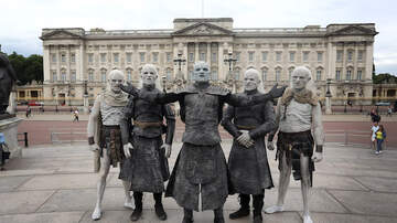Monster Blogs:  Blogging Molly - White Walkers in London!