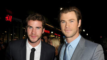 None - Liam Hemsworth Leaning On Brother Chris After Breakup