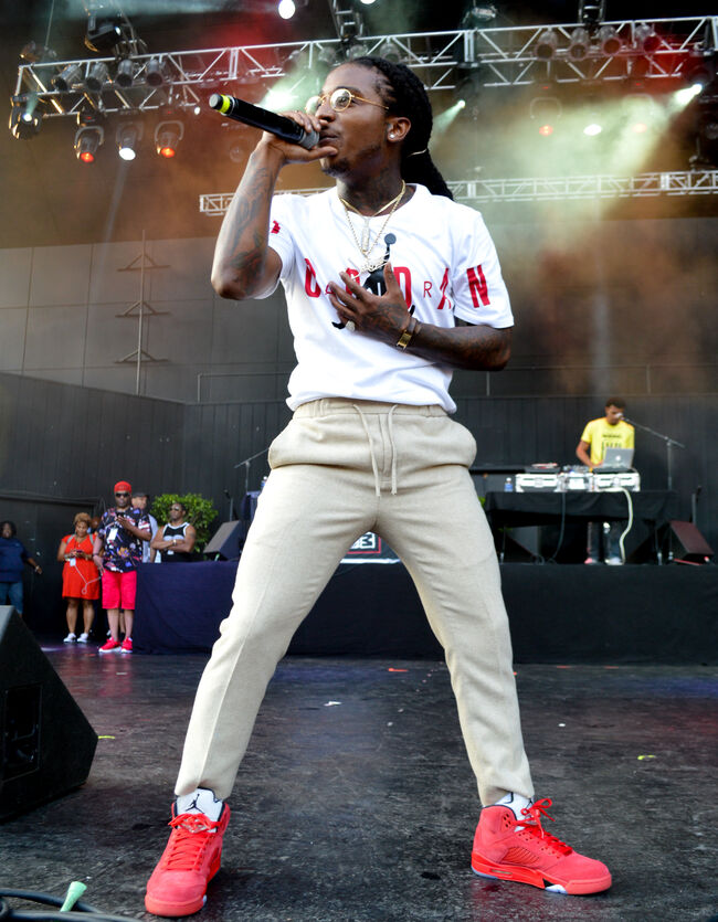 Jacquees at Peace on the Streets July 2017