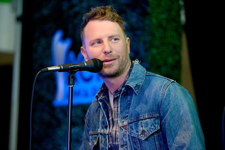 Dierks Bentley Pays Visit To Wounded U.S. Army Sergeant