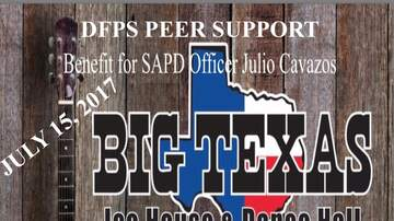 Charity McCurdy - Benefit for Wounded SAPD Officer Julio Cavazos