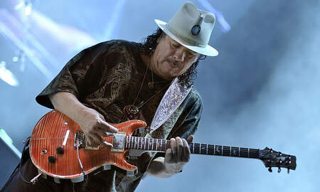 Sheri Van Dyke - Learn Guitar From..  Carlos Santana?!!