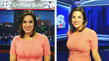 Johnjay And Rich - Pregnant News Anchor Responds To Viewer Who Called Her 'Disgusting'