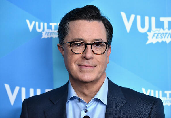 NEW YORK, NY - MAY 20:  Stephen Colbert attends State Of The Union With Stephen Colbert And Frank Rich in the AT&T Studio during the 2017 Vulture Festival at Milk Studios on May 20, 2017 in New York City.  (Photo by Bryan Bedder/Getty Images for Vulture Festival)