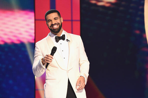 NEW YORK, NY - JUNE 26:  Host Drake speaks on stage during the 2017 NBA Awards Live On TNT on June 26, 2017 in New York City. 27111_001  (Photo by Michael Loccisano/Getty Images for TNT )