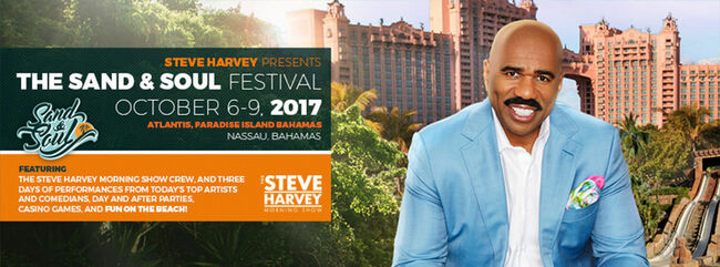 Steve Harvey Sand and Soul Festival