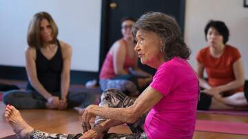image for World's Oldest Yoga Instructor's Advice For A Stress Free Life