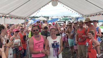 Country Thunder - It's A Country Thunder Wedding... YES, THAT HAPPENED!  [VIDEO]