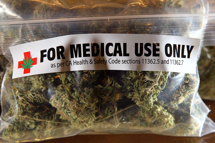 Medical Marijuana Getty