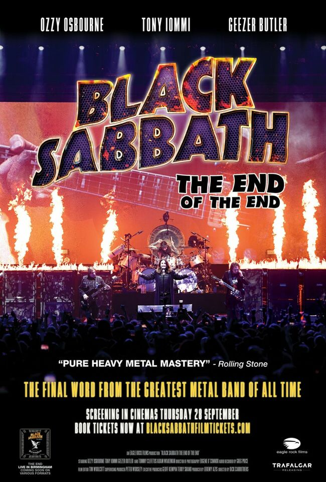 "Black Sabbath ""The End Of The End"""