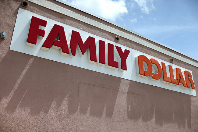 Family Dollar Sign Getty