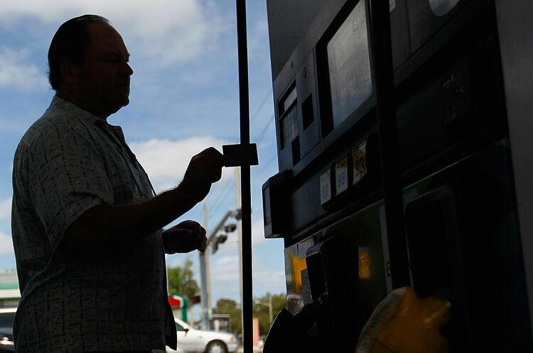 Credit Card Gas Pump Getty
