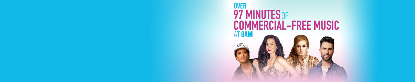 8am Workday Kickoff, with OVER 97 Minutes of Commercial-Free Music!