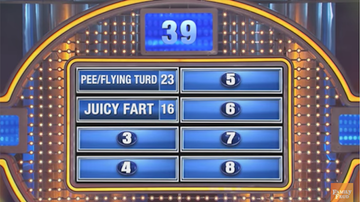 Weird News - Family Feud Question Has Some Very Nasty Answers