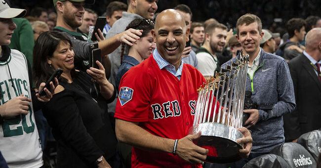Alex Cora Boston Red Sox World Series