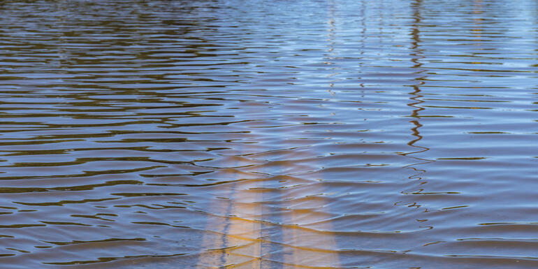 Flooding causing problems in south suburbs
