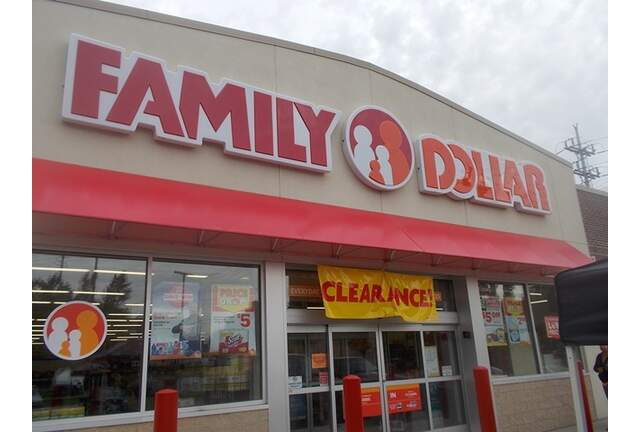 Krystle at Family Dollar
