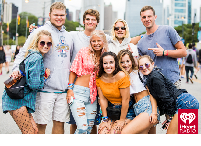 Crowd Cam at Lollapalooza 2017   Brooke & Jubal In The Morning