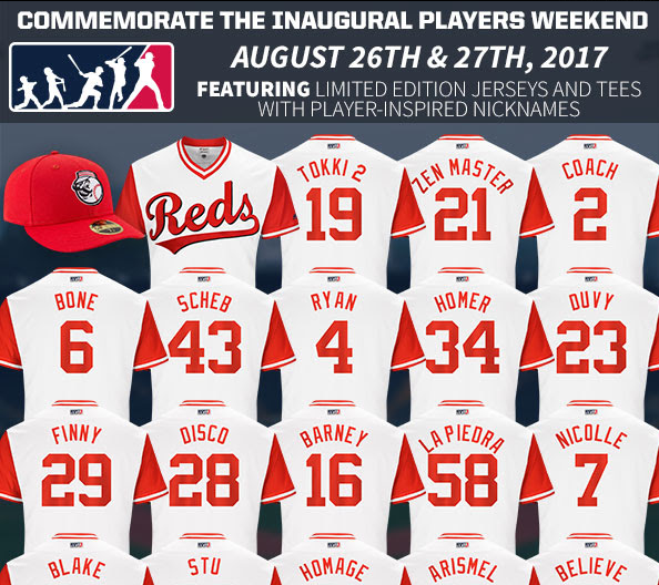 3f790b56 Reds: Players Weekend | Lance McAlister | 700WLW