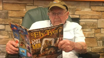 People - WWII Vet Donates Gear to Fishing Club