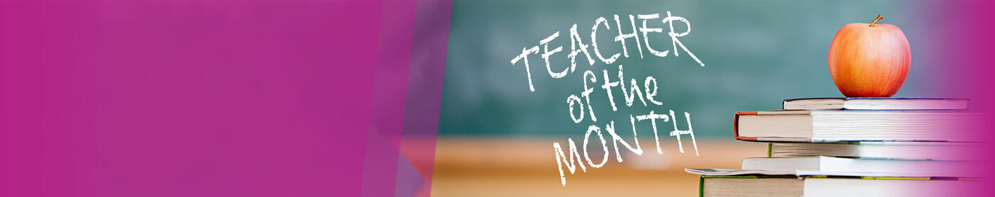 Nominate your teacher for the Lite Rock Teacher of the Month!