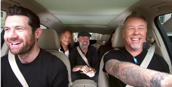 Carpool Karaoke Metallica : watch metallica play 39 metal have i ever 39 on carpool karaoke sixx sense ~ Hamham.info Haus und Dekorationen