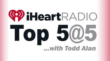 What's New At 101-3 KISS-FM - iHeartRadio Top 5 at 5