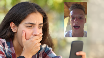 Weird News - Teen Discovers Video On Her Phone Of A Stranger Warning Her