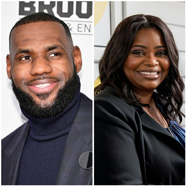 LeBron James and Octavia Spencer - Getty Images