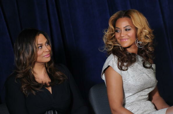 Beyonce and Tina Knowles Lawson - Getty Images