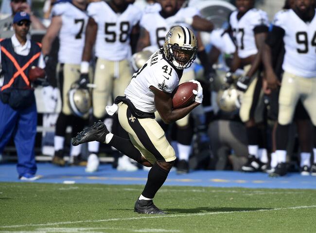 New Orleans Saints Alvin Kamara Getty Images