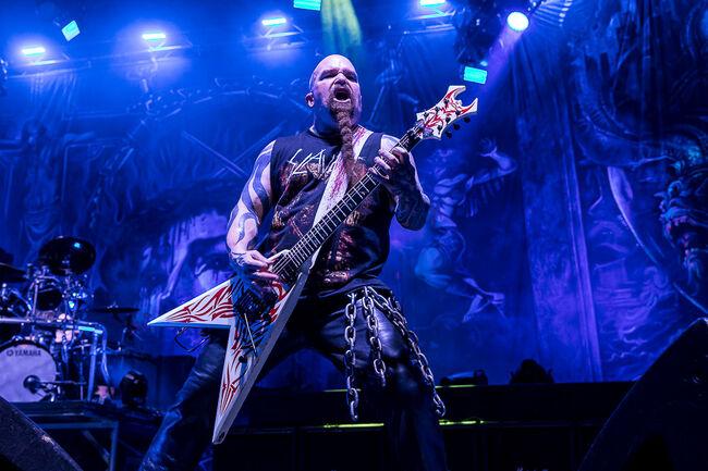 Slayer at WaMu Theater with Lamb of God and Behemoth
