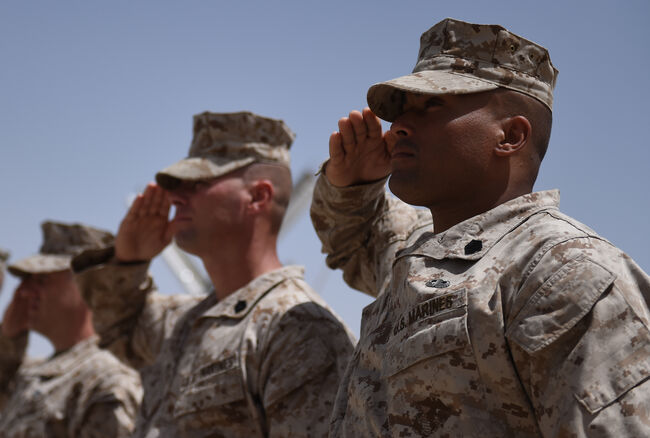 Marines in Afghanistan  Getty Images