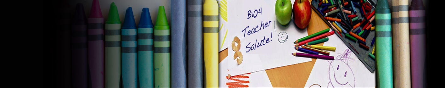 B104 Teacher Salute! Nominate YOUR TEACHER! See our JANUARY Winner>>