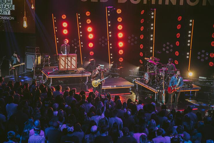 Old Dominion Rocks LA At iHeartCountry Album Release Party