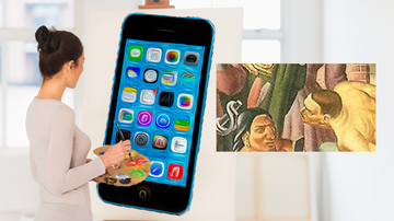 Trending - Cell Phone In A Painting from 1933? There's Also Older Art With iPhones!
