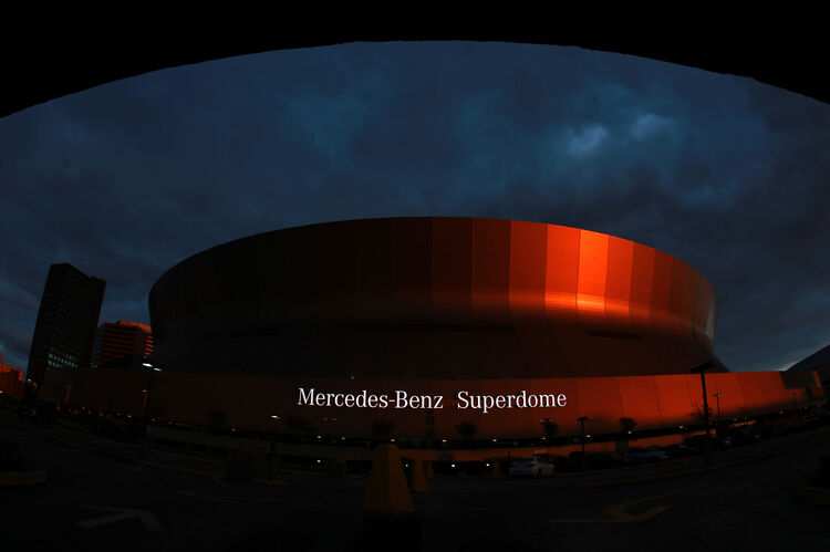 Mercedes-Benz Superdome Getty Images