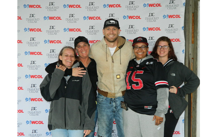 Wcolcountryjam chase rice meet and greet 923 wcol photo 1 of 14 m4hsunfo
