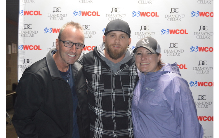 Wcolcountryjam brantley gilbert meet and greet 923 wcol wcolcountryjam brantley gilbert meet and greet 923 wcol m4hsunfo