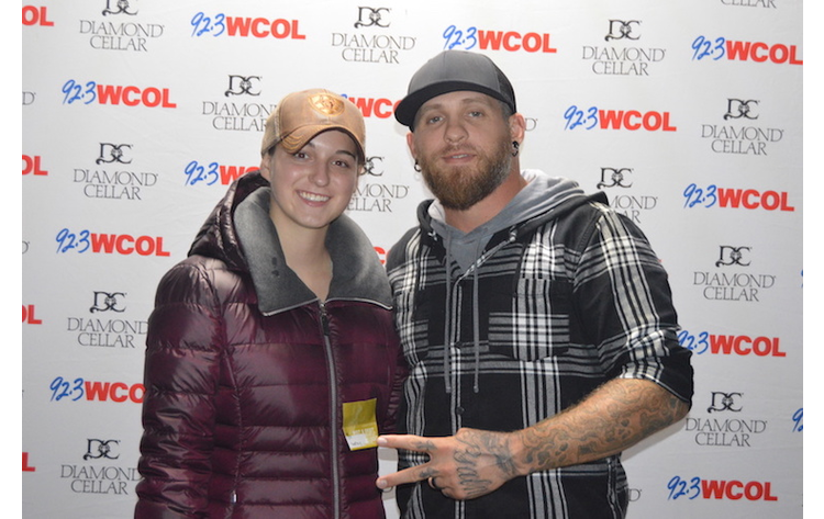 Wcolcountryjam brantley gilbert meet and greet 923 wcol wcolcountryjam brantley gilbert meet and greet m4hsunfo