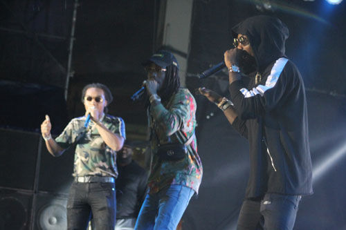 Migos at Chevy Court