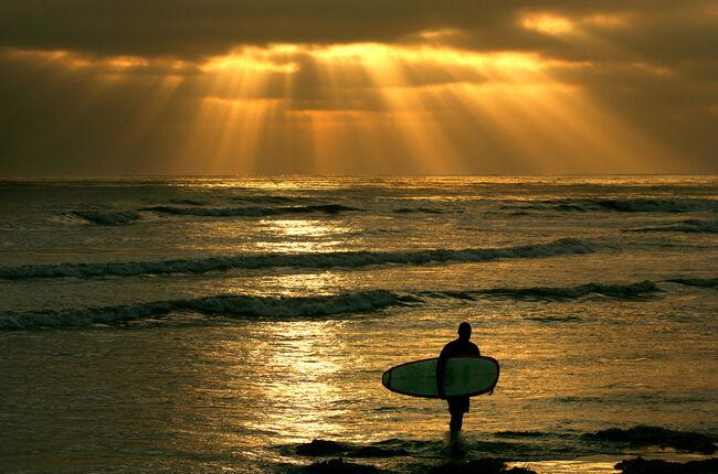 San Diego Beach  Getty Images