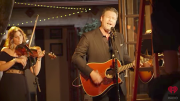 blakes-all-access-pass - EXCLUSIVE: First Look At Blake Shelton's I'll Name The Dogs & Video Shoot